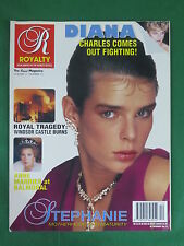 ROYALTY Magazine Vol. 11, No. 12 1992 PRINCESS STEPHANIE of MONACO Cover