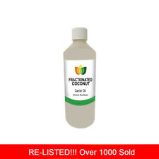 250ml FRACTIONATED COCONUT OIL PREMIUM Cold Pressed Natural Carrier/Base