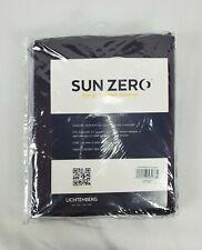 "Sun Zero Saxon Blackberry Purple Grommet-Top Blackout Curtain Panel, 54""x63"""