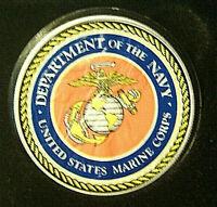 U.S. MARINE CORPS USMC 2020 AMERICAN SILVER EAGLE 1 Oz .999 FINE SILVER COIN