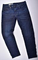G-Star RAW 3301 Deconstructed Slim W33 L32 Superstretch Jeans Herrenjeans Blau