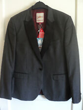 JS58) Mens lined grey suit jacket Joe Browns BNWT size M LUSH