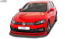 RDX Spoiler Lip for VW Polo 6 VI 2G AW GTI R-Line Spoiler SWORD FRONT SPOILER