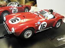 Carrera Evolution 27412 Shelby Cobra 289 Sebring 12h No.16 1963 No. 4 Neu