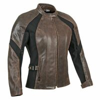Joe Rocket Womens Riviera Ladies Leather Motorcycle Jacket Armoured Vented NEW