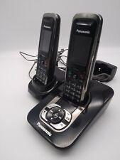 Panasonic KX-TG8421E Cordless Phones + Answer Machine Black Good Condition