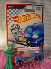 2017 Racing Circuit DEORA II #8/10☆metallic blue; white ☆Hot Wheels WALMART