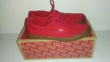 Vans Authentic Lo Pro Gumsole VN-0W7NDVV Barbados Cherry Womens 8.5 US Mens 7