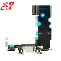 "OEM Charging Port Dock Charger Flex Cable Replacement for iPhone 8 4.7"" White"
