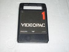 GIOCO PHILIPS VIDEOPAC G7000    CARTUCCIA 1 -  DA TESTARE  -