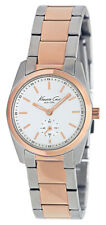 Kenneth Cole New York KC4826 Two-tone Women watch Rose Gold Silver BNWT $125