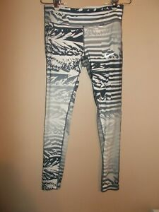 "Nike Dri-Fit Womens Size M Multi Color Gray Skinny Athletic Pants Inseam 30"""