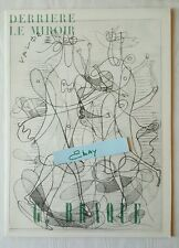 Derriere Le Miroir Book 71-72 Georges Braque 1955 Aime Maeght Lithograph