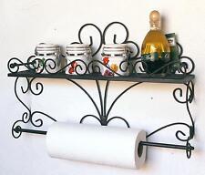 Mensola especias console muro 53 cm da cucina in metallo bagno scaffale parete