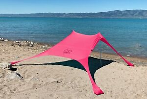 Shades Large Sun Shade Pink | Beach Shelter