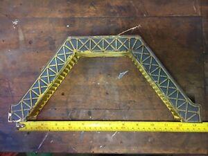 HORNBY O Gauge Footbridge. Circa 1930's Vintage Meccano Foot Bridge