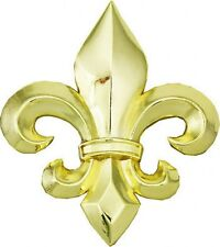Big GOLD finish FLEUR DE LIS metal Belt Buckle 316