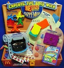 1992 McDonalds Behind the Scenes MIP Complete Set - Lot 4, Boys & Girls, 3+