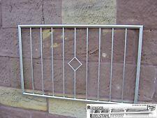 Fenstergitter Valentin Sicherheitsgitter Einbruchsschutz verzinkt 1100x950mm