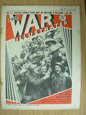WAR ILLUSTRATED MAG No 38 MAY 24th 1940 BRITISH TROOPS WELCOMED IN BELGIUM