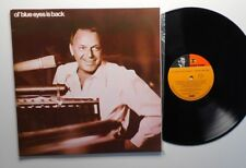 ol' blue eyes is back     FRANK SINATRA     complete with Frank's photo