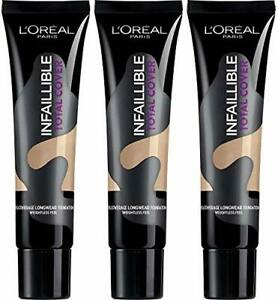 L'OREAL Infallible Total Cover Foundation 35g   - various shades