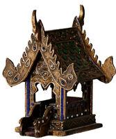 25cm Buddha Tempel Geisterhaus Schrein Erdgeister Geisterhäuschen Thailand