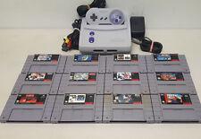 Mini Super Nintendo SNES Console Bundle with Games SNS-101