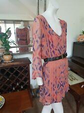 GYPSY 05 Silk Short Dress/Long blouse. SzM.Fully lined bodice.As new