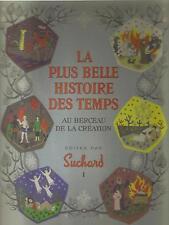 """livres anciens """"la plus belle histoire des temps"""" 2 volumes"""