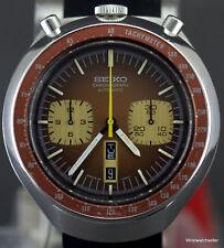 "Seiko ""Bullhead"" 6138-0040 Automatic Chronograph Just Serviced"