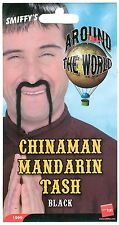 Chinaman Mandarin moustache / tash oriental fancy dress party gift 1999