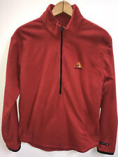 Nike ACG Fleece Sweater 1/2 Zip Mens Size M Red Vintage Thermal Layer 2 Fit