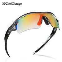 Outdoor Polarized Cycling Sunglasses Eyewear Sports Glasses Bike Goggles 5 Lens