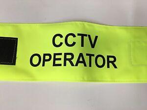 CCTV Operator Hi Viz  Armband