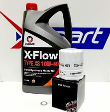 MG ZT / R75 1.8 GENUINE OIL FILTER / SUMP PLUG WASHER AND XPART COMMA OIL