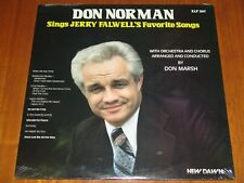 DON NORMAN SINGS JERRY FALWELL'S FAVORITE SONGS - DON MARSH - 1978 SEALED LP ! !