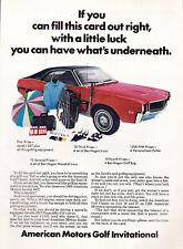 Vintage 1968 American Motors Advertisement