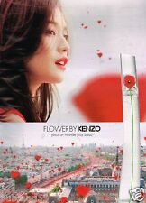 Publicité advertising 2015 Parfum Flower by kenzo