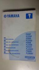Libretto YAMAHA F225 F250D F300B FL300B1  MANUALE DEL PROPRIETARIO Multilingue