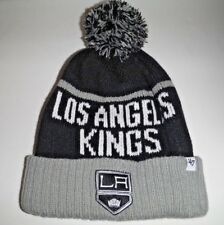2cd67819dd7 Los Angeles Kings Authentic Beanie Toque Knit Hat With Pom NWT 47 Brand NHL