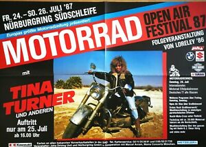 TINA TURNER 1987 NÜRBURGRING - orig.Concert Poster - Plakat A1 F/U 718