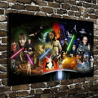 HD Print Portrait Oil Painting Wall Decor Canvas,Star Wars   8x12