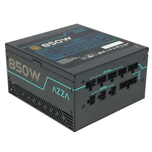AZZA 850 Watt Netzteil GOLD PSU Vollmodular 80 PLUS High-Quality passt für RTX