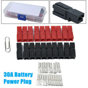 Car 30A Battery Power Plug Car Battery Quick Connector Electrical Connector Plug