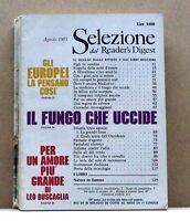 SELEZIONE DAL READER'S DIGEST - AGOSTO 1985