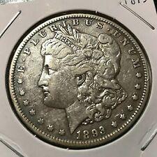 1893  MORGAN SILVER DOLLAR  BETTER DATE COIN