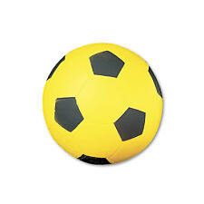 Champion Sports Coated Foam Sport Ball For Soccer Playground Size Yellow SFC