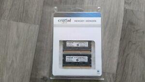 Crucial 16GB DDR3 Memory for Mac (2 x 8GB, CT8G3S160BM)