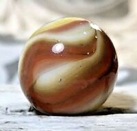 """CAC Christensen Agate 4 Color Swirl Wet Near Mint + Marble .61"""" #16"""